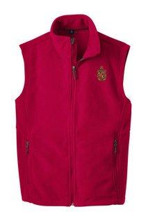 Delta Chi Fleece Crest - Shield Vest