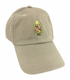 Delta Chi Fraternity Discount Crest - Shield Hats
