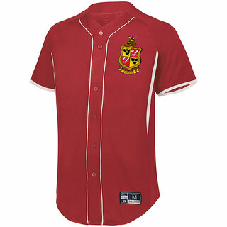 Delta Chi Game 7 Full-Button Baseball Jersey