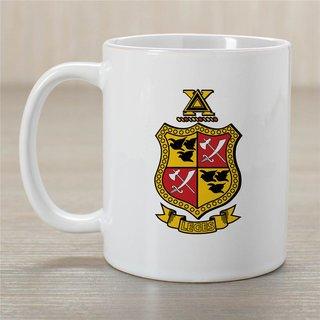 Delta Chi Greek Crest Coffee Mug