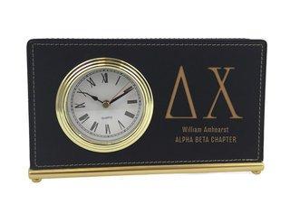 Delta Chi Horizontal Desk Clock