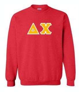 Delta Chi Lettered Crewneck Sweatshirt