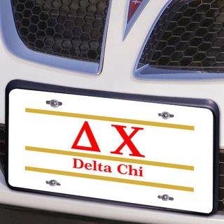 Delta Chi Lettered Lines License Cover