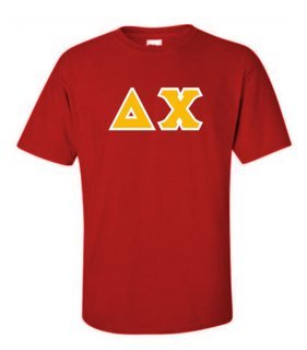 Delta Chi Lettered T-Shirt
