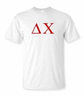Delta Chi Lettered Tee - $9.95! - MADE FAST!
