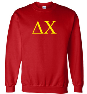 Delta Chi Lettered World Famous $19.95 Greek Crewneck