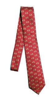 Delta Chi Lettered Woven Necktie
