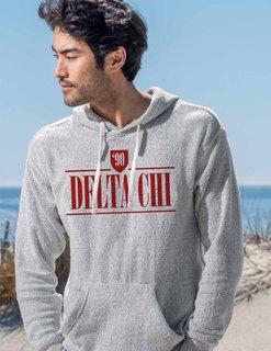 Delta Chi Lucas Loop Fleece Hood