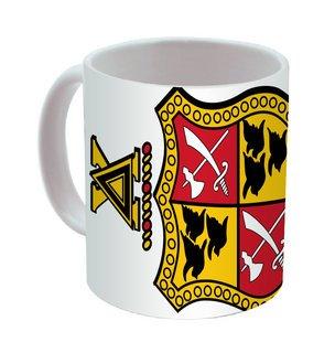 Delta Chi Mega Crest - Shield Coffee Mug