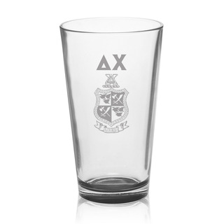 Delta Chi Mixing Glass