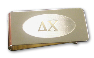 Delta Chi Money Clip