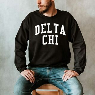 Delta Chi Nickname Crewneck Sweatshirt