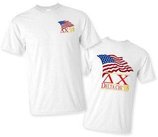 Delta Chi Patriot Limited Edition Tee- $15!