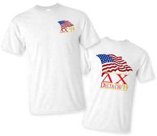 Delta Chi Patriot Limited Edition Tee- $15!