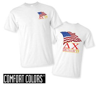 Delta Chi Patriot  Limited Edition Tee - Comfort Colors