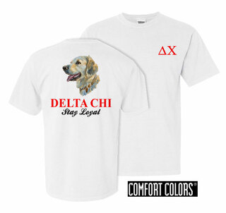 Delta Chi Stay Loyal Comfort Colors T-Shirt