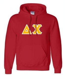 Delta Chi Sewn Lettered Sweatshirts