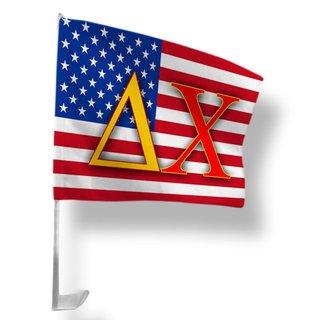 Delta Chi USA Car Flag