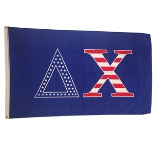 Delta Chi USA Greek Letter Flag