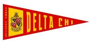 Delta Chi Wall Pennants