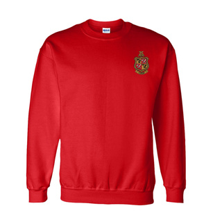 DISCOUNT-Delta Chi World Famous Crest - Shield Crewneck Sweatshirt