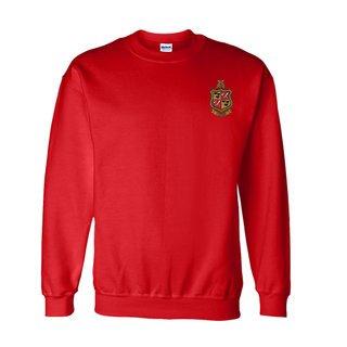 DISCOUNT-Delta Chi World Famous Crest - Shield Crewneck Sweatshirt