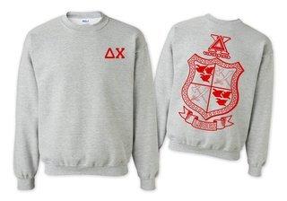 Delta Chi World Famous Crest - Shield Crewneck Sweatshirt- $25!