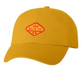 DISCOUNT-Delta Chi Woven Emblem Hat