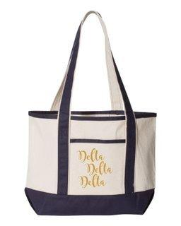 Delta Delta Delta Sailing Tote Bag