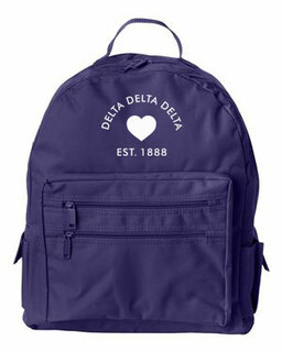 DISCOUNT-Delta Delta Delta Mascot Backpack