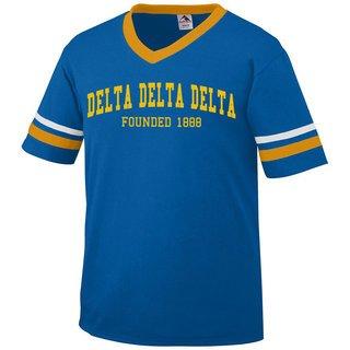 Delta Delta Delta Boyfriend Style Founders Jersey