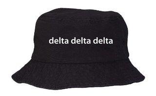 Delta Delta Delta Bucket Hat