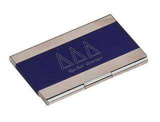 Delta Delta Delta Business Card Holder