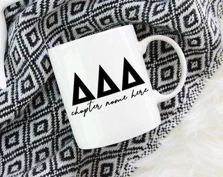 Delta Delta Delta Chapter Mug