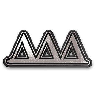 Delta Delta Delta Chrome Car Emblem!