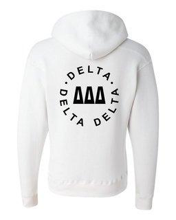 Delta Delta Delta Circle Hoodie
