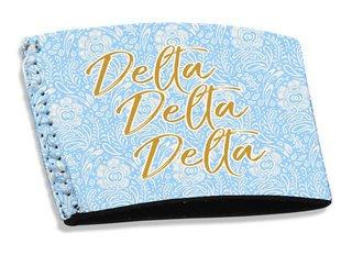 Delta Delta Delta Coffee Sleeve