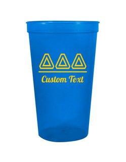 Delta Delta Delta Custom Greek Collegiate Stadium Cup
