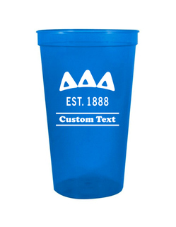 Delta Delta Delta Custom Greek Cooper Stadium Cup