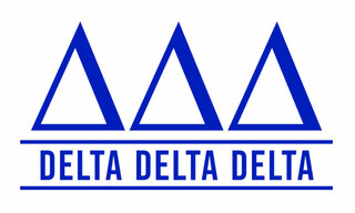 Delta Delta Delta Custom Sticker - Personalized