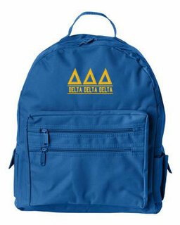 Delta Delta Delta Custom Text Backpack