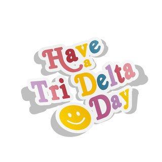 Delta Delta Delta Day Decal Sticker