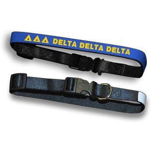 Delta Delta Delta Dog Collar