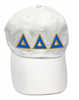Delta Delta Delta Double Greek Letter Cap