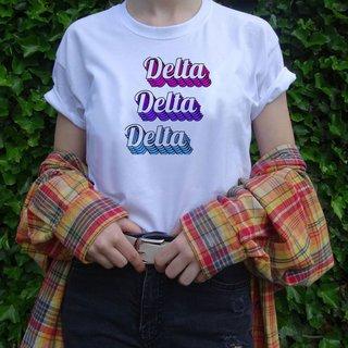 Delta Delta Delta Echo Tee - Comfort Colors