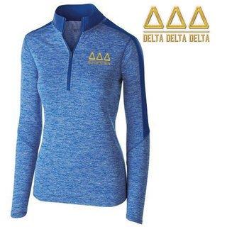 Delta Delta Delta Electrify 1/2 Zip Pullover