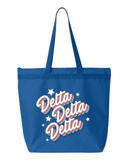 Delta Delta Delta Flashback Tote bag