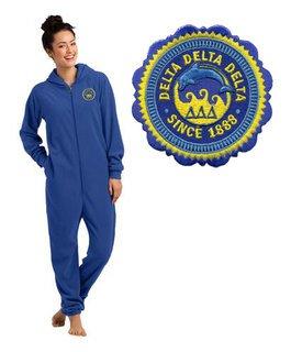 Delta Delta Delta Fleece Lounger