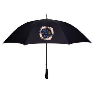 Delta Delta Delta Floral Umbrella