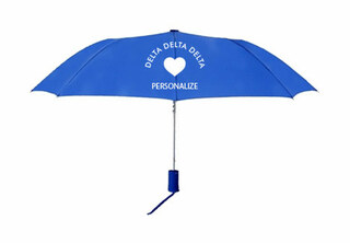 Delta Delta Delta Mascot Umbrella